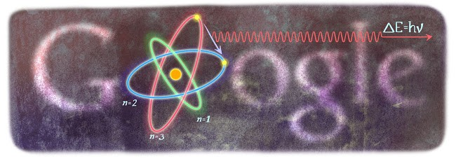 Niels Bohr's 127th birthday - 7 October 2012