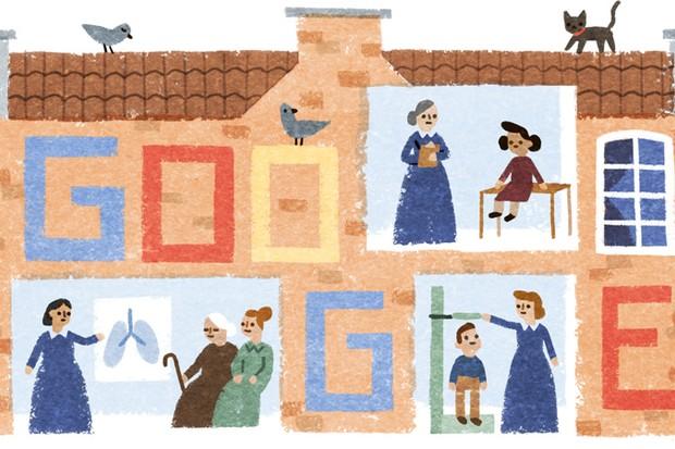Elizabeth Garrett Anderson's 180th birthday - 9 June 2016