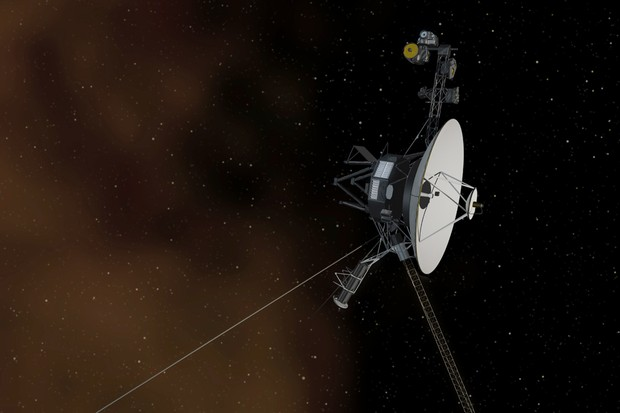 An artist's impression of Voyager 1 entering interstellar space © NASA/JPL-Caltech