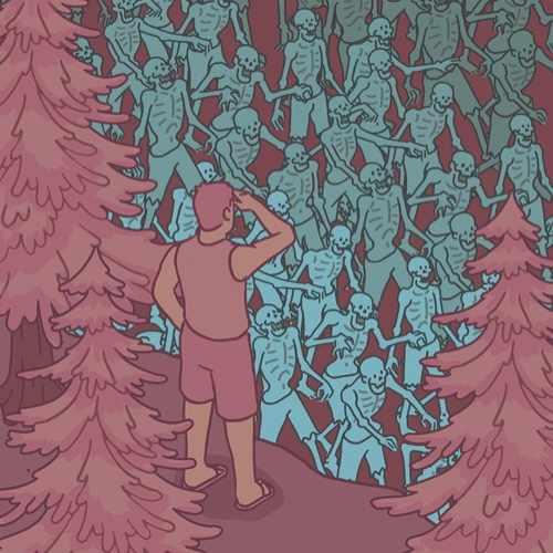 How to survive a zombie apocalypse © Raja Lockey