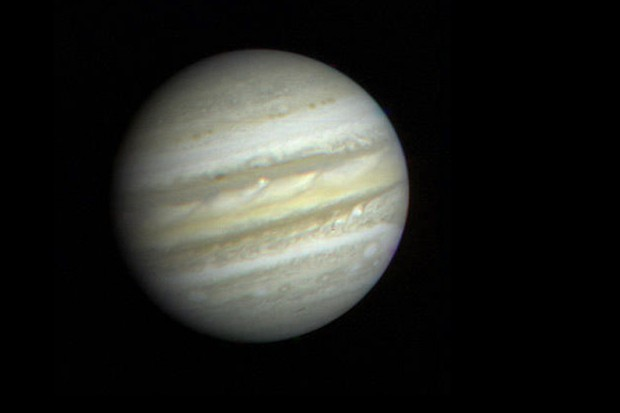 First close-up view of Jupiter from Voyager 1 © NASA