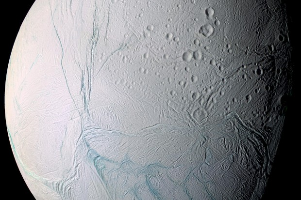 Enceladus © NASA/JPL/Space Science Institute