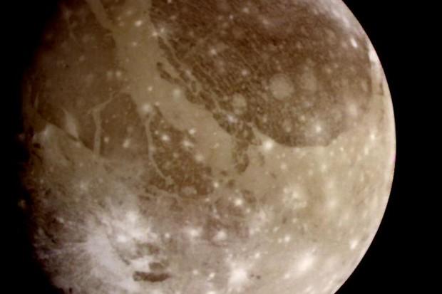 Ganymede © NASA/JPL