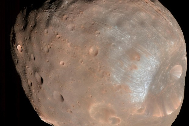 Phobos © NASA/JPL-Caltech/Space Science Institute
