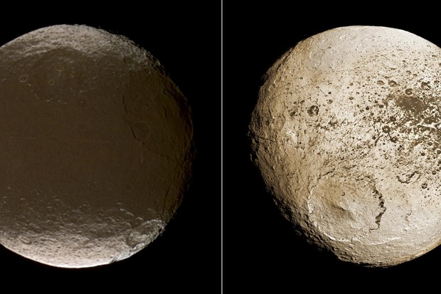 Iapetus © NASA/JPL/Space Science Institute