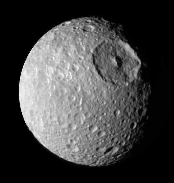 Mimas © NASA/JPL/Space Science Institute