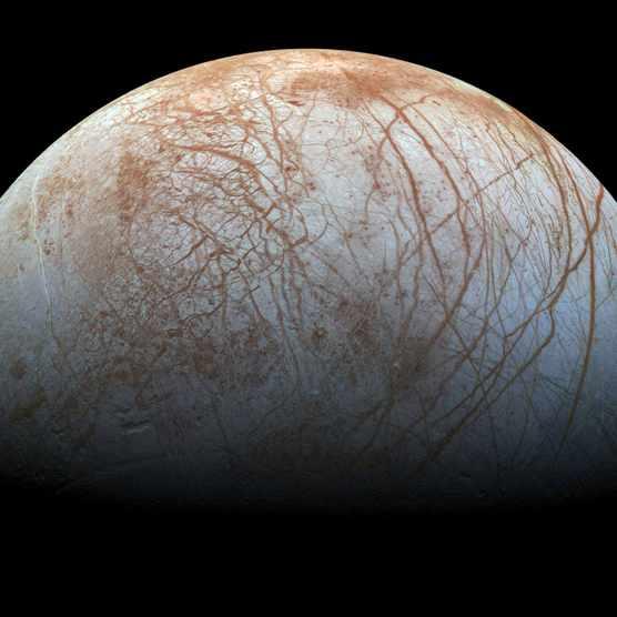 Europa © NASA/JPL-Caltech/SETI Institute
