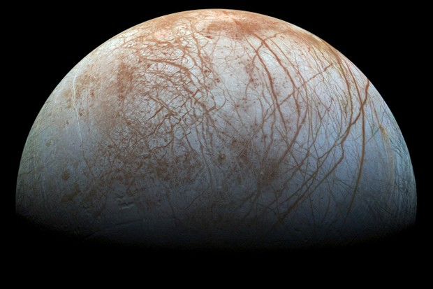 Europa © NASA/JPL-Caltech/SETI Institute
