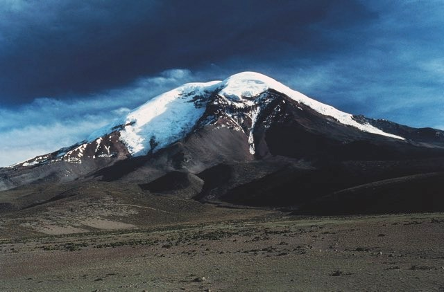 Mount Chimborazo, ascended by Humboldt, is the highest mountain in the world, if measured from the centre of the Earth rather than from sea level. This is because Chimborazo is close to the equator, where the planet bulges © Getty Images