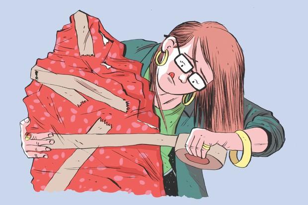 How to wrap your presents © Jamie Coe