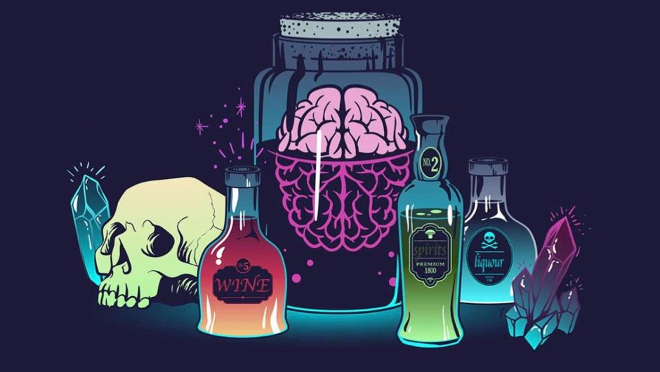 What are the effects of alcohol on the brain?