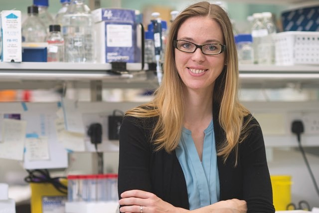 Cambridge neurobiologist Madeline Lancaster was the first person to start growing 'mini-brains' © MRC-LMB