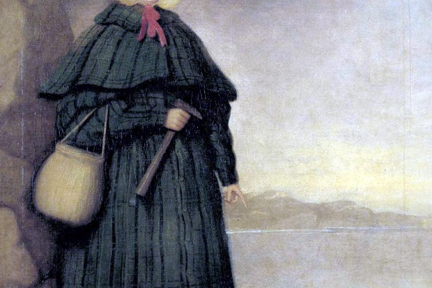 By Credited to 'Mr. Grey' in Crispin Tickell's book 'Mary Anning of Lyme Regis' (1996) (Public domain), via Wikimedia Commons