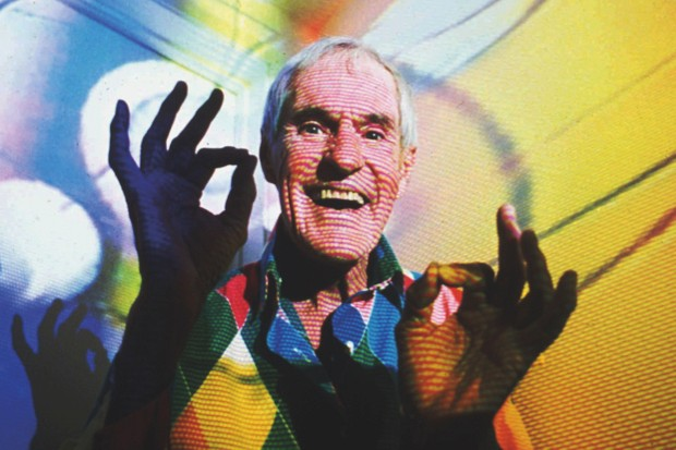 In the 1960s, while a faculty member at Harvard, Dr Timothy Leary carried out psilocybin studies on volunteers. However, his studies had a lack of scientific rigour and did not follow correct research protocol. He was fired from the university and thrown out of academia, but became a figurehead for the counterculture and drug movement © Mark J. Terrill/AP/REX/Shutterstock