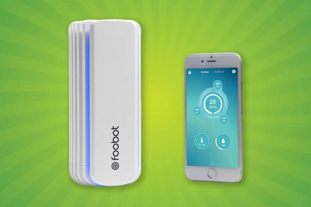 The Foobot air quality monitor is one way to test the pollution levels in your home.