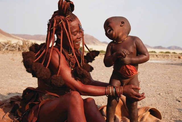 The Himba people do not associate laughter with an emotion – they simply perceive the person as laughing © Getty Images
