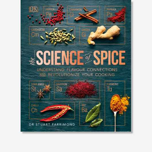 The Science of Spice by Stuart Farrimond is out now (£20, DK)