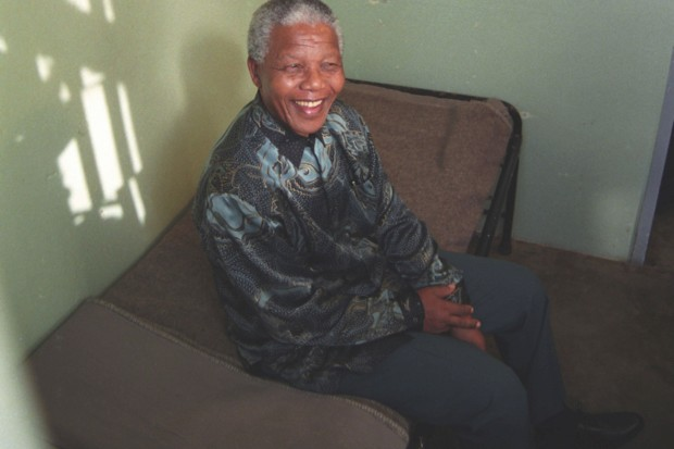 If many people's memories are to be believed, Nelson Mandela died in prison during the 1980s © Oryx Media Archive/REX/Shutterstock