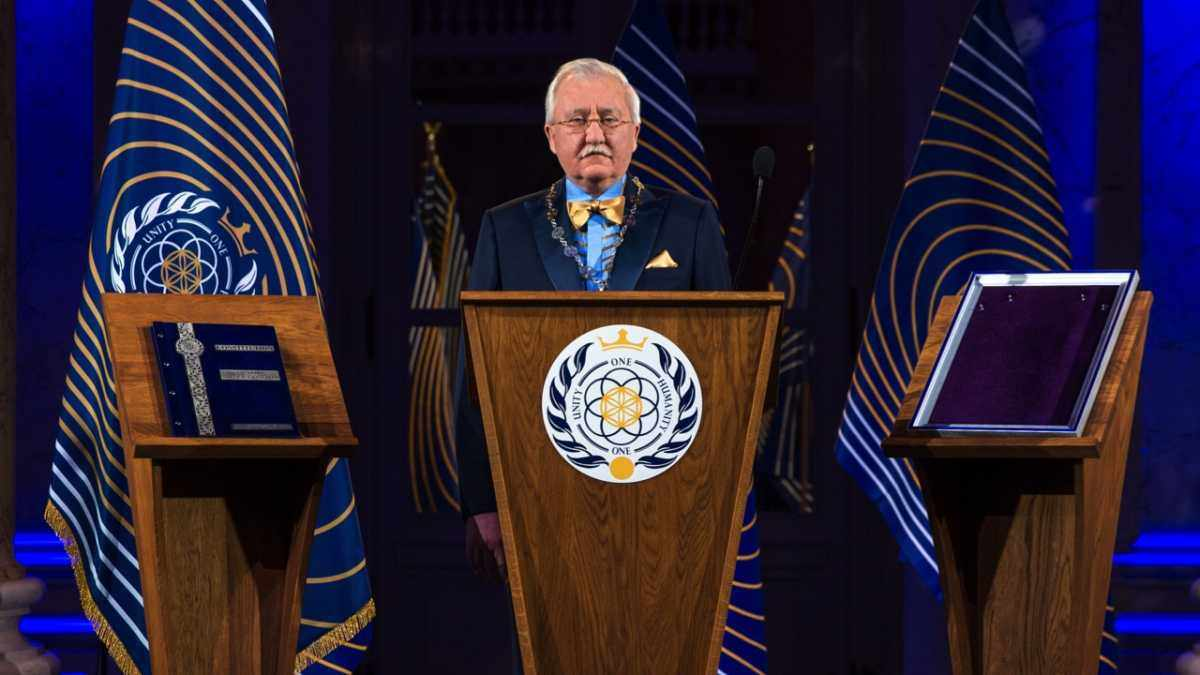 Dr Igor Ashurbeyli, Asgardia's first Head of Nation © Alexandr Omelianchuk/Asgardia