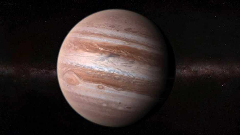 what is at the centre of a gas giant planet like jupiter science