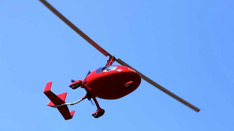 What's the difference between an autogyro and a helicopter? © Getty Images