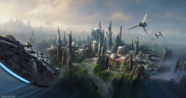 In an infinite universe (or a quantum world), does the world of Star Wars exist in a galaxy far, far away?