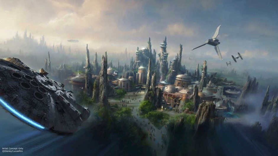 The Star Wars Universe - coming to a Disneyland near you soon! © Disney Parks Via Getty Images