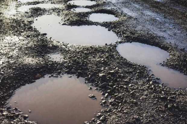 How will driverless cars avoid potholes? © Getty Images