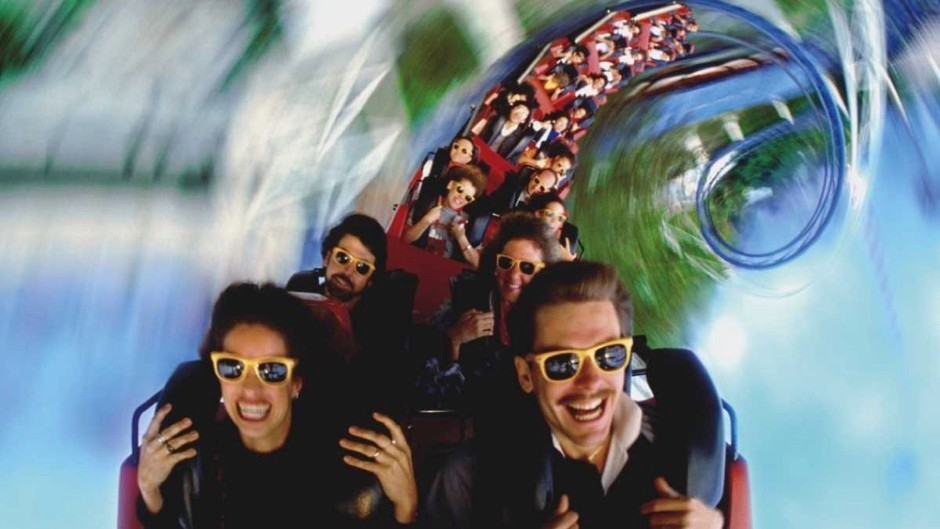 Why do people enjoy rollercoaster rides? © Getty Images