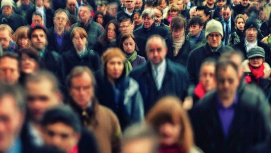 Why do people behave differently in a crowd? © Getty Images