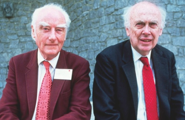 Francis Crick (left) and James Watson © Getty Images
