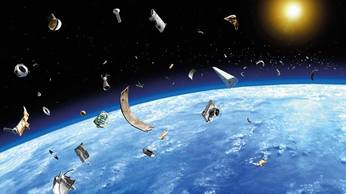 Space junk © Getty Images