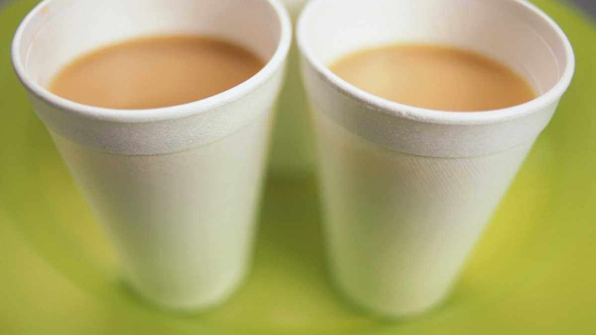Why does tea taste wrong out of a plastic cup? © Getty Images