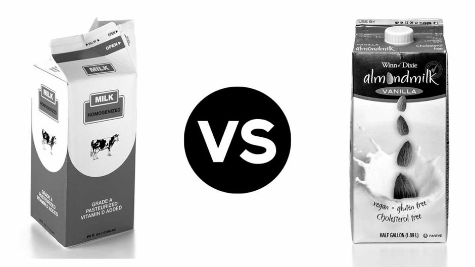 Head to head: Cow's milk vs almond milk