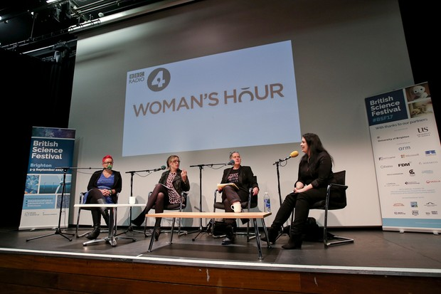 The Late Night Woman's Hour panel © BBC