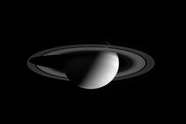 Why does Saturn have rings? © NASA/JPL/Space Science Institute