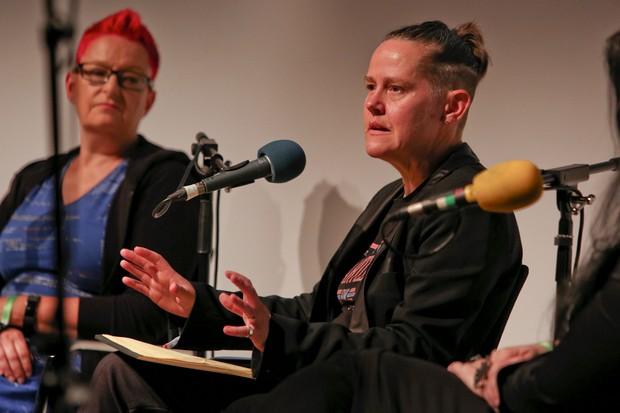 Prof Sarah Kember on Late Night Woman's Hour © BBC
