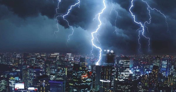 Why does thunderstorm rain contain more nitrogen than ordinary rain?
