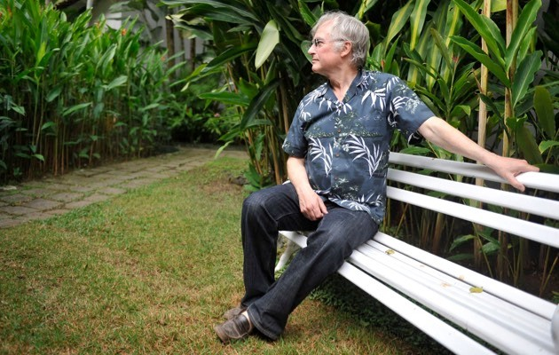 Dawkins prior to a press conference at the 2009 Paraty International Literary Festival, Brazil. (Luciana Whitaker/LatinContent/Getty Images)