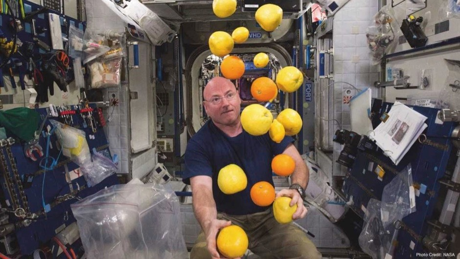 How does gravity affect brain function? © NASA