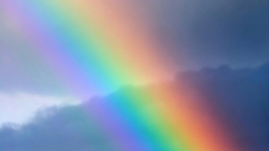 Why do millions of raindrops only make one rainbow? © iStock