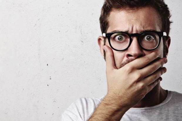 Why do we cover our mouths when startled or shocked? © iStock