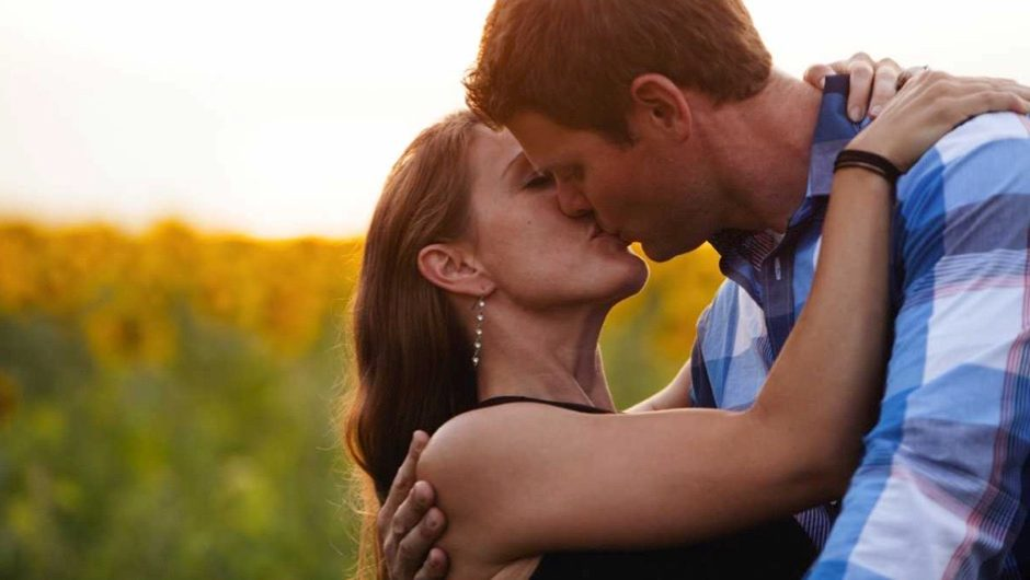 Why do we close our eyes when we kiss