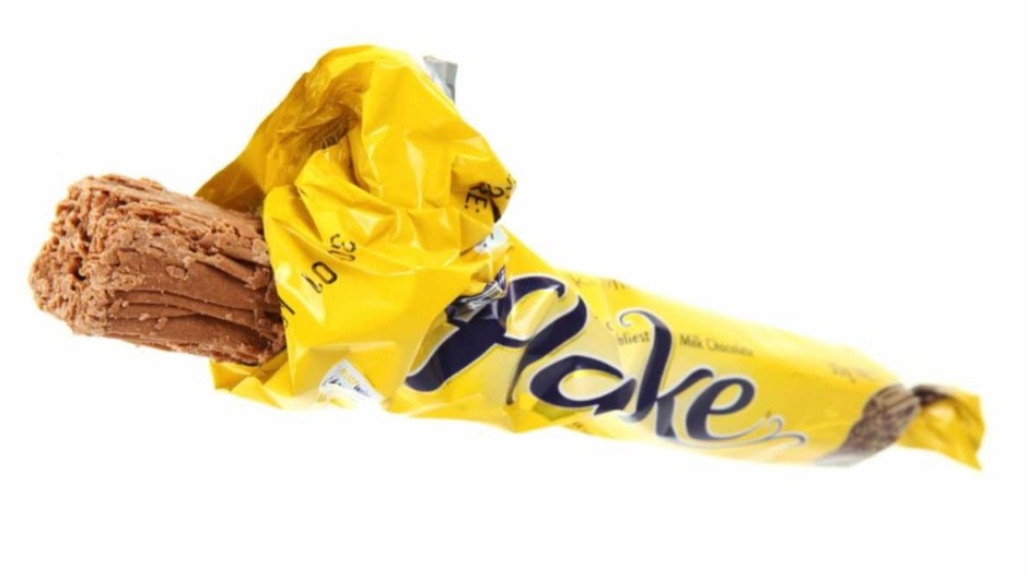 Why doesn't a Cadbury's Flake melt in the microwave?