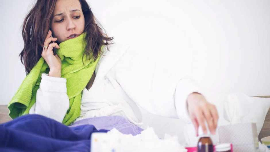 Why do I feel cold and shiver when I have a fever? © iStock