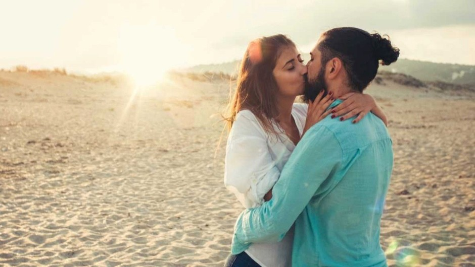 Why do humans show affection by kissing? © iStock