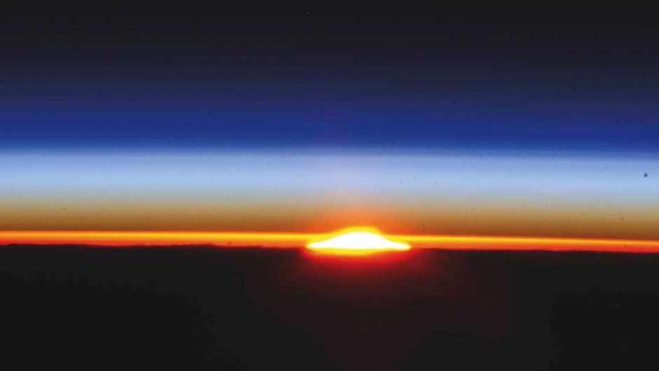 How does the atmosphere rotate with the Earth? © NASA