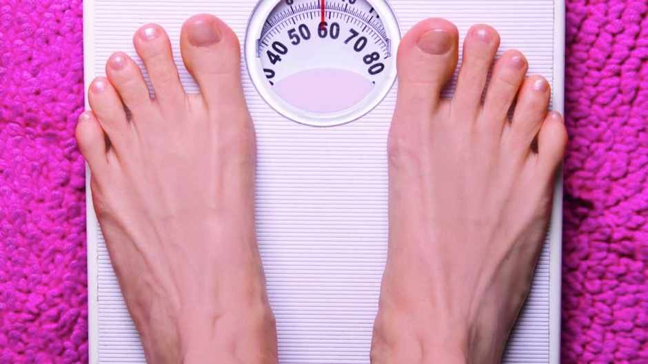 Why do I weigh less in the morning?