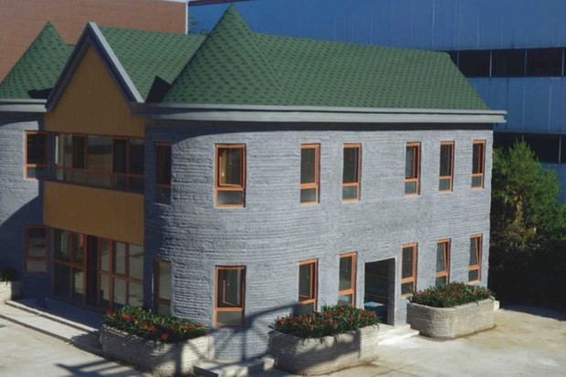 Huashang Tenda 3D Printed House