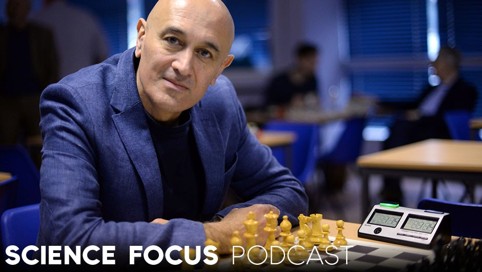 Professor Jim Al-Khalili considers the challenge chess has posed for AI © BBC/Wingspan Productions/Jodie Adams
